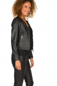 Arma |  Studio Ar leather jacket Chendra | black  | Picture 4