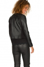 Arma |  Studio Ar leather jacket Chendra | black  | Picture 5