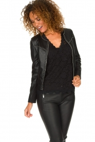 Arma |  Studio Ar leather jacket Chendra | black  | Picture 2