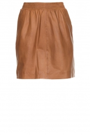 Arma |  Studio Ar leather skirt Mirte | brown  | Picture 1