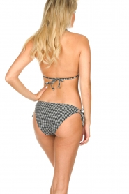 Becksöndergaard |  Checkered triangle bikini Check | black  | Picture 4