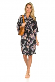 Becksöndergaard |  Printed midi dress Rafael | blue  | Picture 3