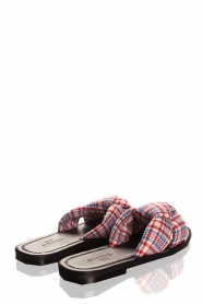 Becksöndergaard |  Printed sandals Charly | red  | Picture 4