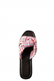 Becksöndergaard |  Printed sandals Charly | red  | Picture 5