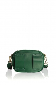 Becksöndergaard |  Leather bum bag Fany Rua | green  | Picture 4