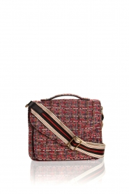 Becksöndergaard |  Boucle shoulder bag Lovish Mara | red  | Picture 2