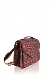 Becksöndergaard |  Boucle shoulder bag Lovish Mara | red  | Picture 3