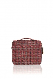 Becksöndergaard |  Boucle shoulder bag Lovish Mara | red  | Picture 4