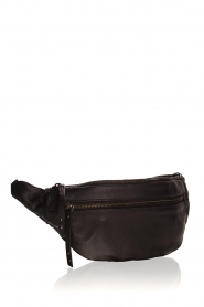 Becksöndergaard |  Leather bum bag Belly | black  | Picture 3