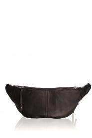 Becksöndergaard |  Leather bum bag Belly | black  | Picture 4