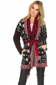 Est-Seven |  Cardigan with prints Lucky Star | multi  | Picture 2