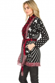 Est-Seven |  Cardigan with prints Lucky Star | multi  | Picture 5