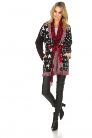 Est-Seven |  Cardigan with prints Lucky Star | multi  | Picture 3