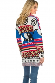 Est-Seven |  Cardigan with prints Show Me What You Got | multi  | Picture 6