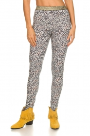 Les Favorites |  Leggings with panther print Valery | dierenprint  | Picture 3