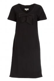 Les Favorites |  Dress with bow Suze | black  | Picture 1
