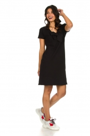 Les Favorites |  Dress with bow Suze | black  | Picture 3