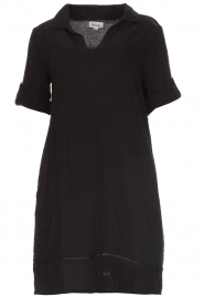 Les Favorites |  Cotton dress Philly | black  | Picture 1