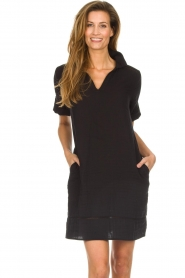 Les Favorites |  Cotton dress Philly | black  | Picture 2