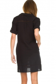 Les Favorites |  Cotton dress Philly | black  | Picture 5
