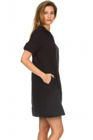 Les Favorites |  Cotton dress Philly | black  | Picture 4