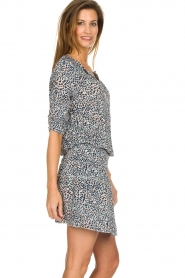 Les Favorites |  Dress with panther print Florie | animal print  | Picture 5