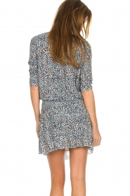 Les Favorites |  Dress with panther print Florie | animal print  | Picture 6