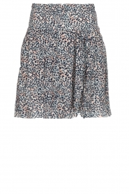 Les Favorites |  Skirt with panther print Fleur | animal print  | Picture 1