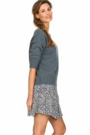 Les Favorites    Skirt with panther print Fleur   animal print    Picture 4