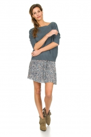 Les Favorites |  Skirt with panther print Fleur | animal print  | Picture 3