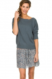 Les Favorites    Skirt with panther print Fleur   animal print    Picture 2