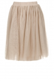 Les Favorites |  Tulle skirt Lilly | nude  | Picture 1