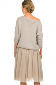 Les Favorites |  Tulle skirt Lilly | nude  | Picture 5