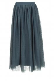 Les Favorites |  Tulle midi skirt Liz | blue  | Picture 1