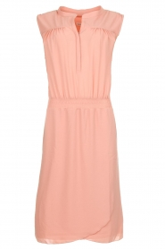 Les Favorites |  Dress with smocked waist Jill | pink  | Picture 1