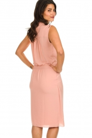 Les Favorites |  Dress with smocked waist Jill | pink  | Picture 5