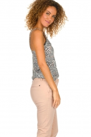 Les Favorites |  Leopard printed top Olivia | animal print  | Picture 3