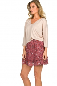Les Favorites |  Top with lurex finish Day | nude  | Picture 5