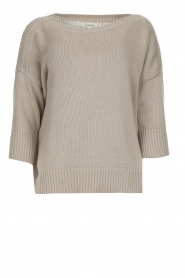 Les Favorites |  Cotton sweater Sabina | grey  | Picture 1