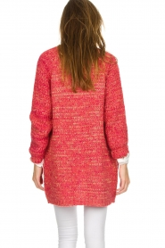 Les Favorites |  Knitted cardigan with glitter details Charlotte | pink  | Picture 6
