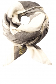 Les Favorites |  Scarf Christel | grey  | Picture 2