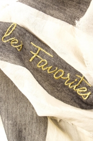 Les Favorites |  Scarf Christel | grey  | Picture 3