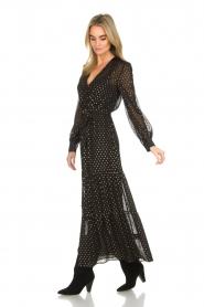 Dante 6 | Maxi-jurk Arlette | zwart  | Afbeelding 4