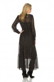Dante 6 | Maxi-jurk Arlette | zwart  | Afbeelding 5