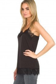 Dante 6 |  Top with lace Dalia | black  | Picture 4