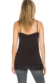 Dante 6 |  Top with lace Dalia | black  | Picture 5