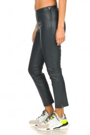 Dante 6 |  Leather leggings Ansh | blue  | Picture 4