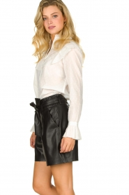 Dante 6 |  Belted shorts Nola  | black  | Picture 4