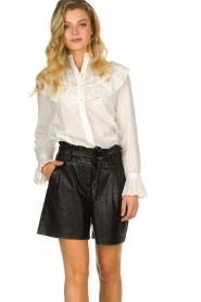 Dante 6 |  Belted shorts Nola  | black  | Picture 2