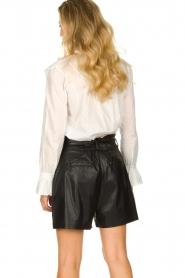 Dante 6 |  Belted shorts Nola  | black  | Picture 5
